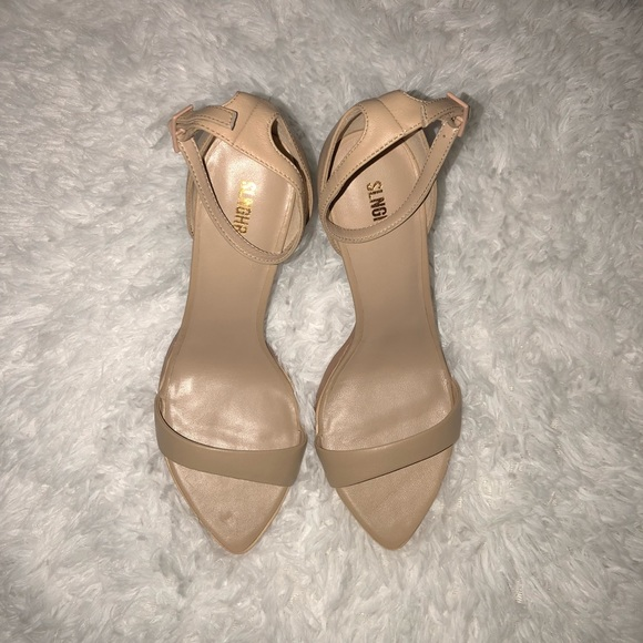 9af0875aa67f SLNGHR Nude Leather High Heel Sandals